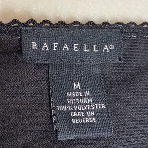 Rafaella Tops - NWT Rafaella Mesh Print V-Neck Top